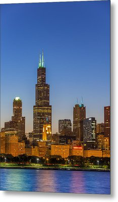 Willis Tower Metal Print by Sebastian Musial