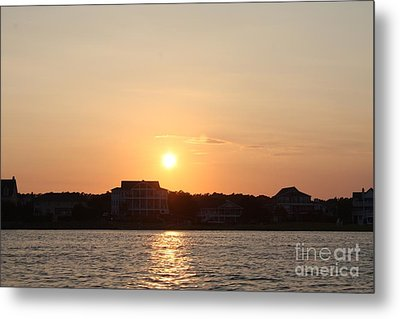Wilmington North Carolina Sunset Metal Print by John Telfer