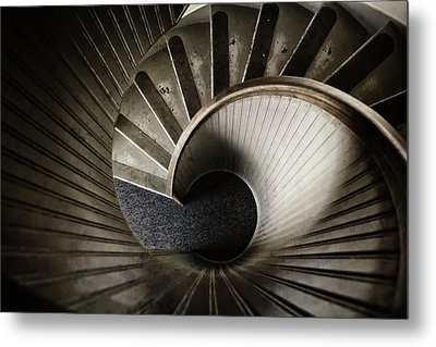 Winding Down Metal Print by Joan Carroll