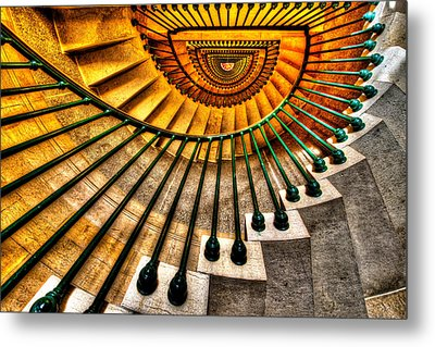 Winding Up Metal Print by Chad Dutson