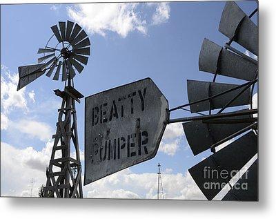 Windmills 1 Metal Print by Bob Christopher