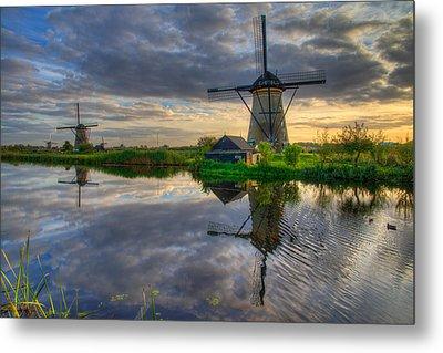 Windmills Metal Print by Chad Dutson