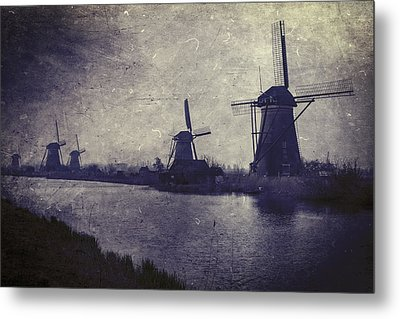 Windmills Metal Print by Joana Kruse