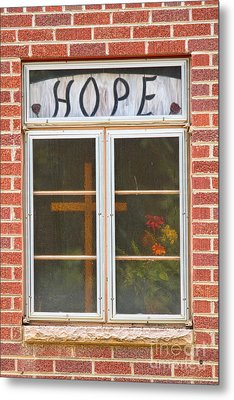 Window Of Hope 2 Metal Print by James BO  Insogna