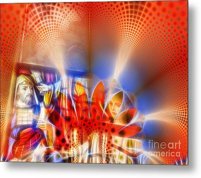 Window Of Illusions Metal Print by Ian Mitchell