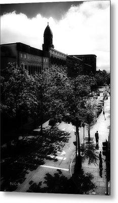 Window On Lisbon Street Metal Print by Bob Orsillo