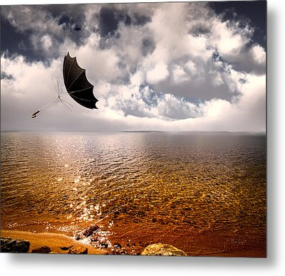 Windy Metal Print by Bob Orsillo