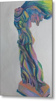 Winged Victory Metal Print by Cherie Sexsmith