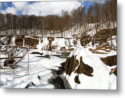 Winter Day Metal Print by John Rizzuto