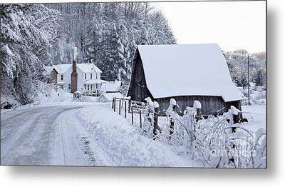 Winter In Virginia Metal Print by Benanne Stiens