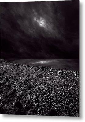 Winter Nightscape Metal Print by Bob Orsillo