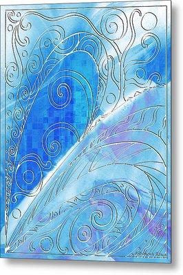 Winter Solstice  Metal Print by Shawna Rowe