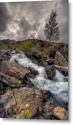 Winter Stream Metal Print by Adrian Evans
