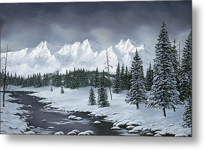 Winter Wonderland Metal Print by Rick Bainbridge