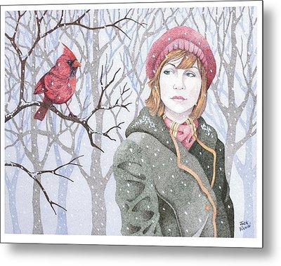 Winter's Tale Metal Print by Jack Puglisi