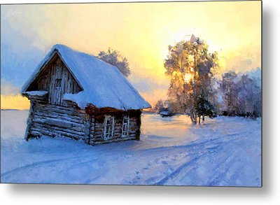 Winter's Tale Metal Print by Marina Likholat