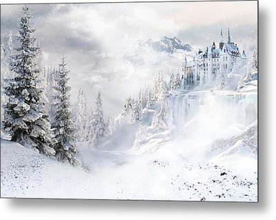Winters Tale Metal Print by Shanina Conway