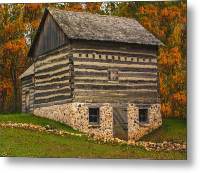 Wisconsin Homestead Metal Print by Jack Zulli