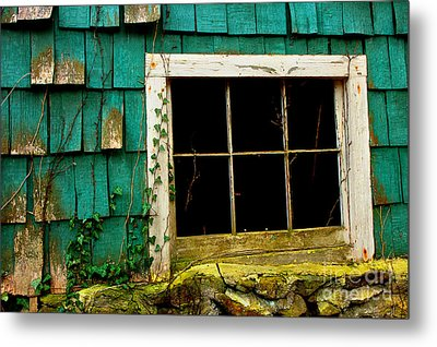 Wishes Through The Window Metal Print by Michael Eingle