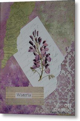 Wisteria Metal Print by Tamyra Crossley