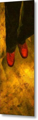 Witch Walking Metal Print by RC DeWinter