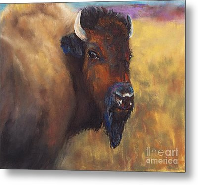With Age Comes Beauty Metal Print by Frances Marino