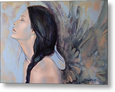 With Ancient Love Metal Print by Dorina  Costras