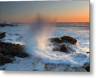 With Force Metal Print by Mike  Dawson