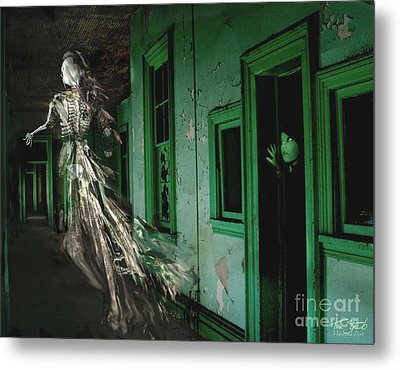 Witness Metal Print by Tom Straub