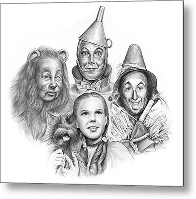 Wizard Of Oz Metal Print by Greg Joens