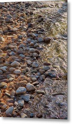 Wolf Creek Upstream Metal Print by Omaste Witkowski