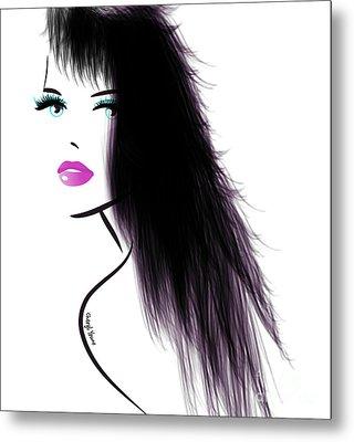 Woman 5 Metal Print by Cheryl Young