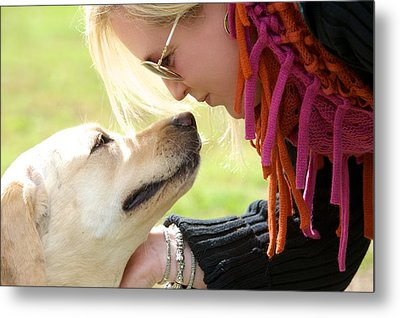 Woman's Best Friend Metal Print by Andrew Heald