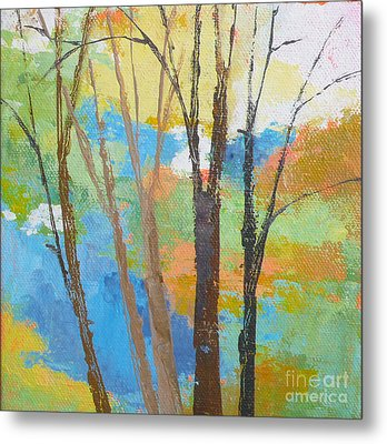 Woodland #1 Metal Print by Melody Cleary