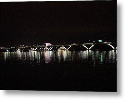 Woodrow Wilson Bridge - Washington Dc - 011344 Metal Print by DC Photographer