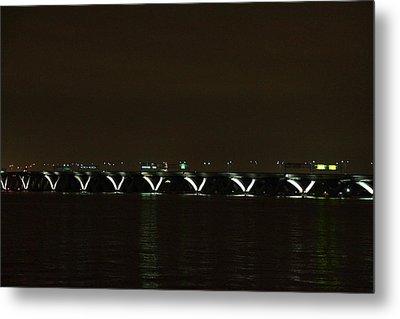 Woodrow Wilson Bridge - Washington Dc - 01138 Metal Print by DC Photographer