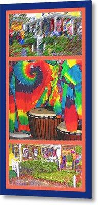 Woodstock Triptych Metal Print by Steve Ohlsen