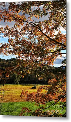 Woodstock Vermont Metal Print by Edward Fielding