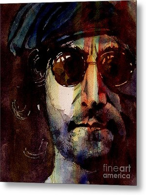 Working Class Hero Metal Print by Paul Lovering