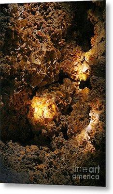 Wulfenite Cave Metal Print by Afrodita Ellerman
