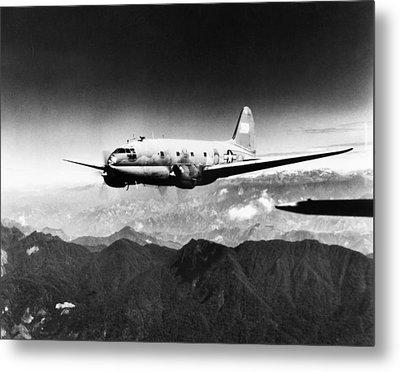 Ww II: Transport Aircraft Metal Print by Granger