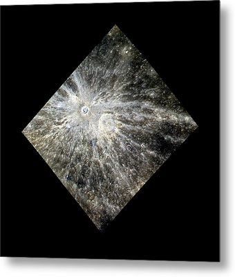 Xiao Zhao Crater Metal Print by Nasa/johns Hopkins University Applied Physics Laboratory/carnegie Institution Of Washington