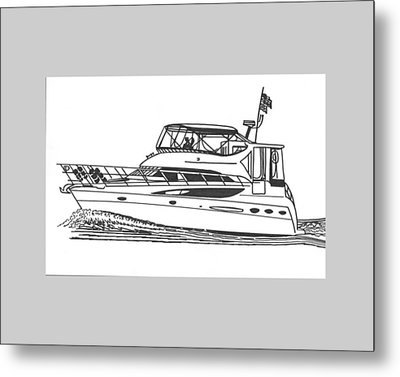 Yachting Good Times Metal Print by Jack Pumphrey