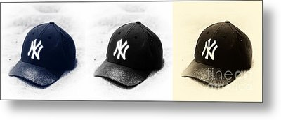 Yankees Metal Print by John Rizzuto