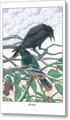 Yardbirds Metal Print by Jonathan W Brown