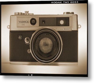 Yashica Lynx 5000e 35mm Camera Metal Print by Mike McGlothlen