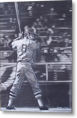 Yaz - Carl Yastrzemski Metal Print by Sean Connolly