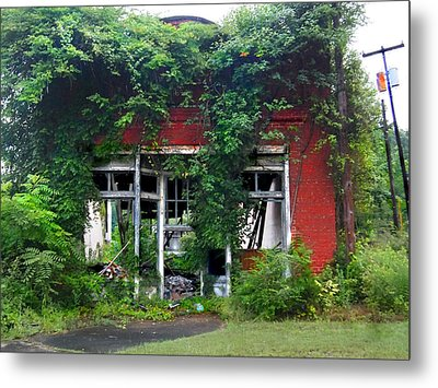 Ye Olde Country Store Metal Print by Tammy Cantrell