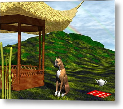 Year Of The Dog Metal Print by Michele Wilson