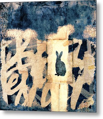 Year Of The Rabbit No. 3 Metal Print by Carol Leigh